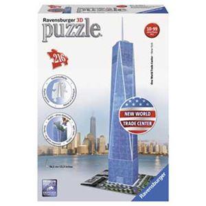カワダ 125623 3Dパズル 1 ワールドトレードセンター 【ジグソーパズル】