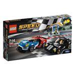 レゴジャパン 75881 レゴ(R)スピードチャンピオン 2016 フォード GT & 1966 フォード GT40 【LEGO】