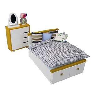 カワダ NRB-002 ベッド&チェストセット