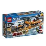 レゴジャパン 60165 レゴ(R)シティ 海上レスキューボートと4WDキャリアー 【LEGO】