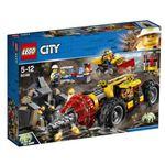 レゴジャパン 60186 レゴ(R)シティ ガリガリドリルカー 【LEGO】の画像