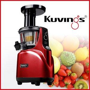 クビンス(Kuvings)サイレントジューサー レッド JSG-150 - 拡大画像