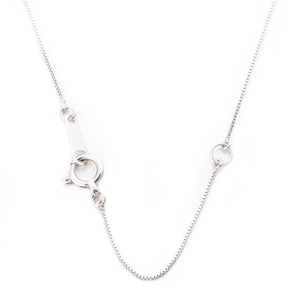 【鑑別書付】K18ホワイトゴールド 天然ダイヤネックレス ダイヤモンドペンダント/ネックレス0.10ct クロスモチーフ h03
