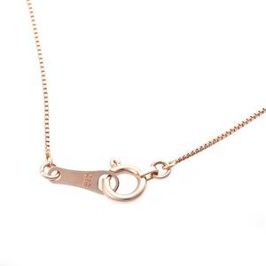 【鑑別書付】K18イエローゴールド 天然ダイヤネックレス ダイヤモンドペンダント/ネックレス0.10ct クロスモチーフ h02