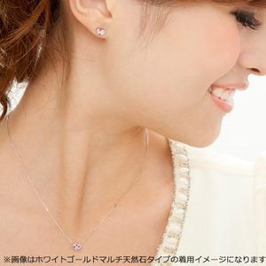 ダイヤモンド ネックレス K18 ホワイトゴールド 0.15ct ハート ダイヤパヴェネックレス ペンダント f05