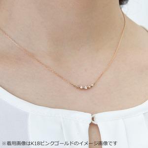 ダイヤモンド ネックレス K18 ホワイトゴールド 0.3ct 5粒 5ストーン ダイヤネックレス 0.3カラット ペンダント f05