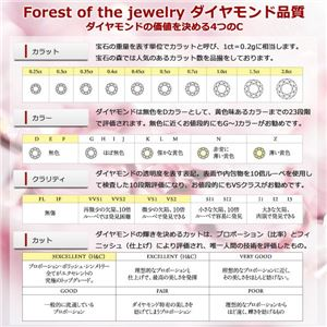 【鑑別書付】プラチナPT900 天然ダイヤリング 指輪 ダイヤ0.20ct 13号 ハーフエタニティリング h03