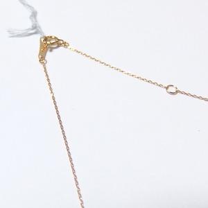 パール ネックレス 華真珠 K18 イエローゴールド 8mm 8ミリ珠 特殊カット技術 タヒチ真珠 ペンダント パール 真珠 40cm 長さ調節可能(アジャスター付き)