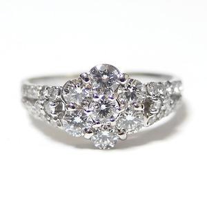 ダイヤモンド リング 0.8ct プラチナ P...の紹介画像5