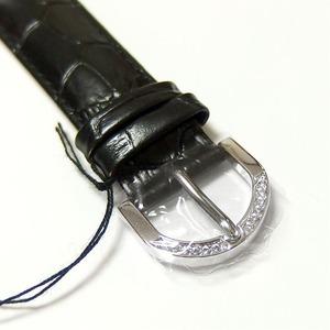 アンコキーヌ ネオ 45mm バイカラー ミニクロス シルバーベゼル インナーベゼルブラック ブラックベルト アルバ 正規品(腕時計・グルグル時計) h03
