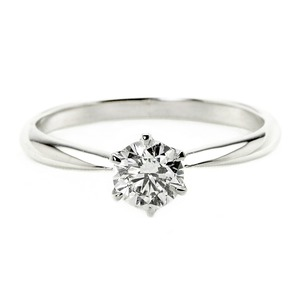 ダイヤモンドブライダルリングプラチナPt9000.4ctダイヤ指輪DカラーSI2ExcellentEXハート&キューピットエクセレント鑑定書付き10.5号
