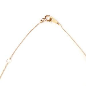 スーパーキュービックジルコニア ネックレス K18 イエローゴールド 大粒 1ct 高品質 ハート&キューピッド H&C シンプル ペンダント