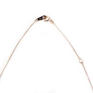 ネックレス ルビー K18 イエローゴールド 7月 誕生石 一粒 シンプル プチネックレス ペンダント