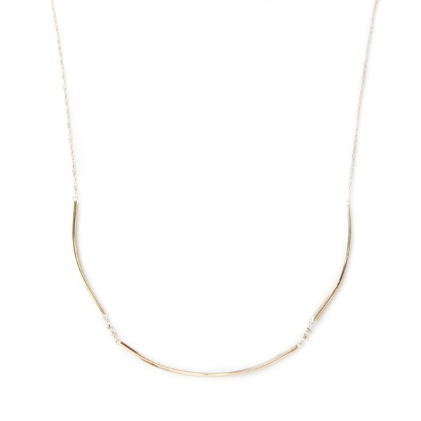 ネックレス K18 イエローゴールド 地金ネックレス 45cmチェーン スライド調整機能付き シンプル