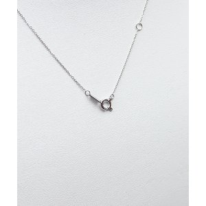 プラチナPt900  ダイヤモンドペンダント/ネックレス 一粒0.10ctUP フクリンタイプ f04
