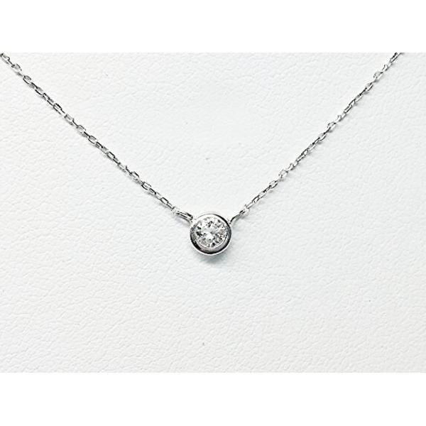 プラチナPt900  ダイヤモンドペンダント/ネックレス 一粒0.15ctUP フクリンタイプf00