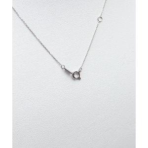 プラチナPt900  ダイヤモンドペンダント/ネックレス 一粒0.15ctUP フクリンタイプ f04