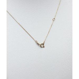 K18 ダイヤモンド一粒0.20ctUPネックレス フクリンタイプ f04