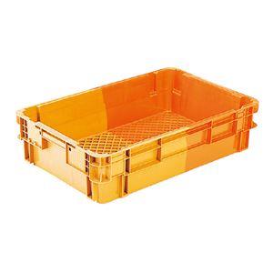 三甲(サンコー) SNコンテナ/2色コンテナボックス 【Cタイプ】 食パン・ケーキ搬送用 #35TA オレンジ/オレンジ