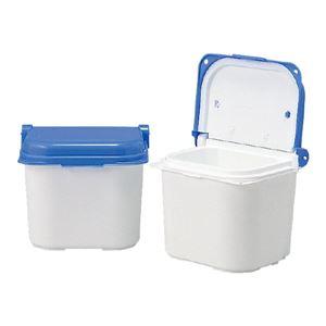 三甲(サンコー) 保冷牛乳箱(宅配ミルク受け箱) 6型 ホワイト(白)