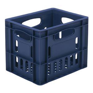 三甲(サンコー)飲料輸送用コンテナ/ピュアクレート【1L紙パック×12本用】12P-14ブルー(青)