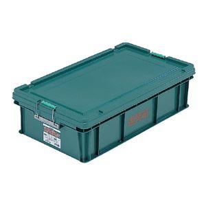 三甲(サンコー) 左官用道具箱/ツールボックス 【特大】 PP製 グリーン(緑)