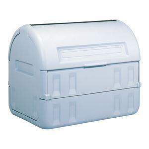 三甲(サンコー) サンクリーンボックス#800 グレー 【業務用 超大型ふた付きゴミ箱】
