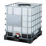 三甲(サンコー) サンバルク(液体輸送容器) #1000TC-450 セット ブラック(黒)×ホワイト(白)