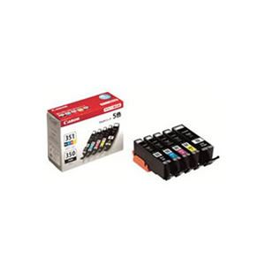【純正品】 Canon キャノン インクカートリッジ/トナーカートリッジ 【BCI-351+350/5MP】 5色入り