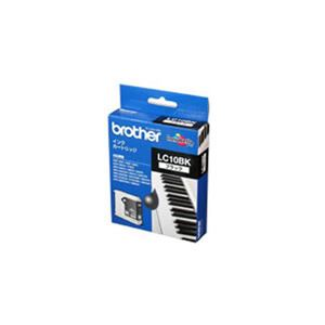 (業務用3セット)【純正品】 BROTHER ブラザー インクカートリッジ/トナーカートリッジ 【LC10BK ブラック】 ×3セット