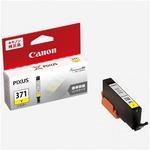 (業務用10セット) 【純正品】 Canon キャノン インクカートリッジ 【0383C001 BCI-371Y イエロー】の画像