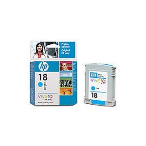 (業務用5セット) 【 純正品 】 HP C4937A HP 18 インクカートリッジ シアン