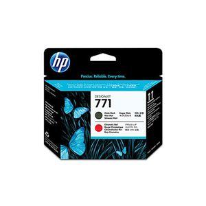 (業務用3セット) 【純正品】 HP CE017A HP771 プリントヘッド マットブラック/クロムレッド(MBK/クロムR)