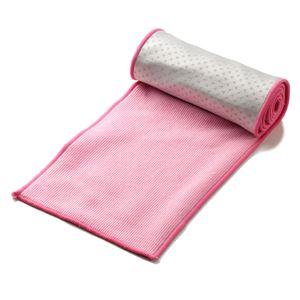 超冷感タオル cool'n〔クールン〕 単品 ひんやりタオル ひんやりスカーフ 無地ピンク