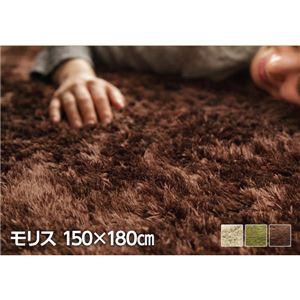 選べる!とろけるふわもこラグ 【モリス】 150×180cm ラグ 長方形 ブラウンの詳細を見る
