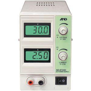 A&D(エーアンドデイ)電子計測機器直流安定化電源(30V、2.5A)AD-8724D