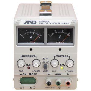 A&D(エーアンドデイ)電子計測機器 直流安定化電源(30V、3A)AD-8735A