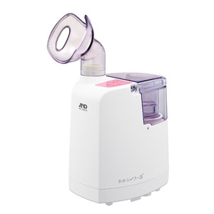 A&D(エーアンドデイ)口鼻両用 超音波温熱吸入器 ホットシャワー5 UN-135-P (ピンク) - 拡大画像
