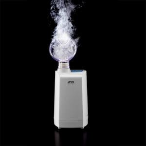 A&D(エーアンドデイ)口鼻両用 超音波温熱吸入器 ホットシャワー5 UN-135-P (ピンク)
