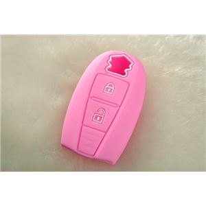 スマートキーケース スズキ スイフト ZC32S ピンク