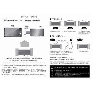 トヨタ マークX GRX120 121 125 (DVDナビ)専用 TV/NVキット テレビナビキット