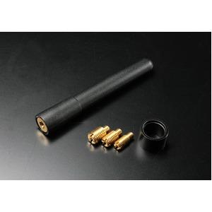 ネジ付ショートアンテナ77mm クルー/グロリア/サニー/サファリの詳細を見る