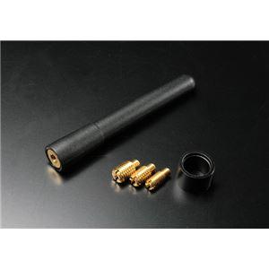 ネジ付ショートアンテナ77mm プラッツ/プリウス/ブレイドの詳細を見る