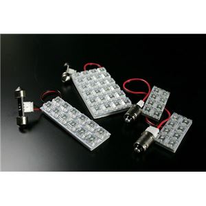LEDルームランプ 日産 キューブキュービック YGZ11 (52発)の詳細を見る