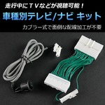 日産 プレサージュ U31 専用 TV/NVキット テレビナビキット
