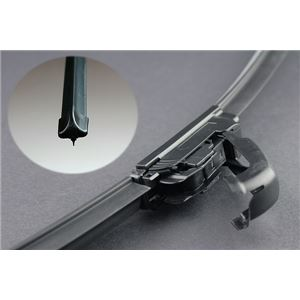 エアロカラー ワイパーブレード (ブラック) 2本セットトヨタ ヴィッツ (05/2~)の詳細を見る