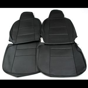 (Azur)フロントシートカバー ピクシスバン S321M/S331M (全年式) ヘッドレスト一体型
