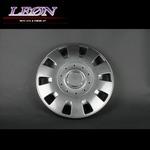 [LEON]12インチホイールカバー 4枚 汎用品 (ガンメタ)