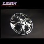 [LEON]14インチホイールカバー 4枚 汎用品 (クローム)