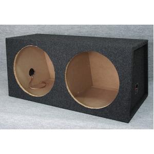 12インチ(30cm)ウーハー2発用シールドボックスの詳細を見る